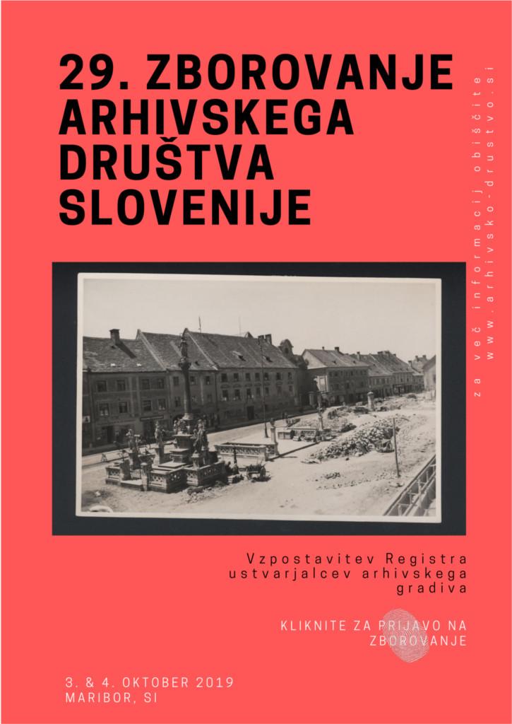 29. zborovanje Arhivskega društva Slovenije