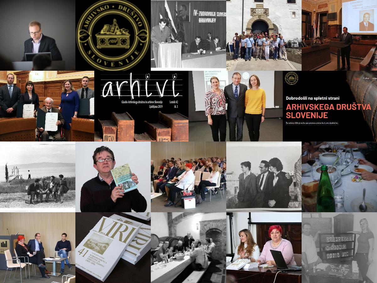 Poročilo o delu  izvršnega odbora Arhivskega društva Slovenije v mandatnem obdobju 2018–2020